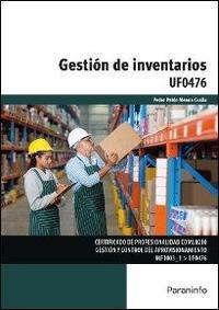 Libro UF0476 - GESTIÓN DE INVENTARIOS