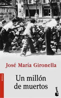 Libro UN MILLON DE MUERTOS
