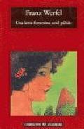 Libro UNA LETRA FEMENINA AZUL PALIDO