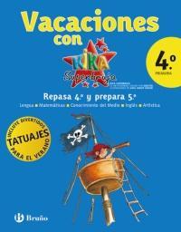 Libro VACACIONES KIKA 4º PRIMARIA
