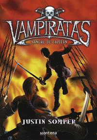 Libro VAMPIRATAS: SANGRE DE CAPITAN