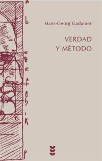 Libro VERDAD Y METODO