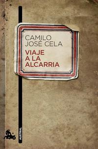 Libro VIAJE A LA ALCARRIA