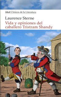 Libro VIDA Y OPINIONES DEL CABALLERO TRISTRAM SHANDY