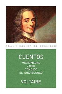 Libro VOLTAIRE: CUENTOS