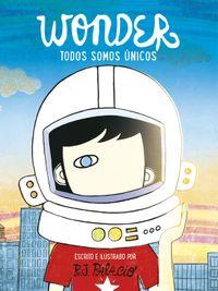 Libro WONDER. TODOS SOMOS UNICOS
