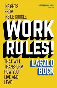 Libro WORK RULES