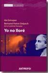 Libro YO NO LLORE