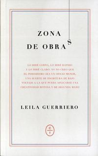 Libro ZONA DE OBRAS