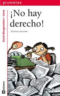 Libro ¡NO HAY DERECHO!