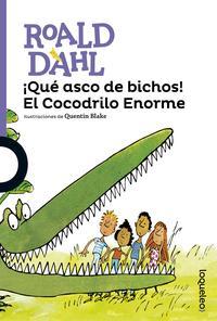 Libro ¡QUE ASCO DE BICHOS! EL COCODRILO ENORME
