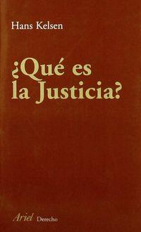 Libro ¿QUE ES LA JUSTICIA?
