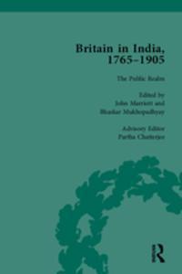 """Libro """"BRITAIN IN INDIA, 1765-1905, VOLUME VI """""""