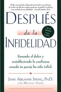 Libro DESPUÉS DE LA INFIDELIDAD