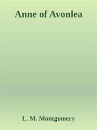Libro ANNE OF AVONLEA