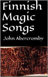 Libro FINNISH MAGIC SONGS