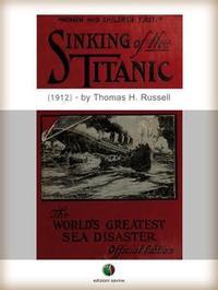 Libro SINKING OF THE TITANIC