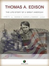 Libro THOMAS A. EDISON - THE LIFE-STORY OF A GREAT AMERICAN