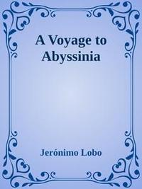 Libro A VOYAGE TO ABYSSINIA