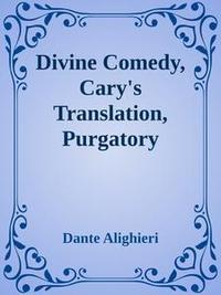 Libro DIVINE COMEDY, CARY'S TRANSLATION, PURGATORY