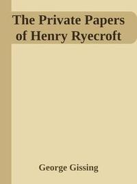 Libro THE PRIVATE PAPERS OF HENRY RYECROFT