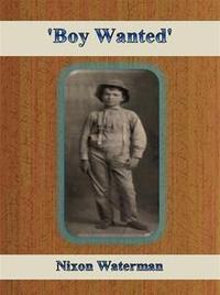 Libro 'BOY WANTED'
