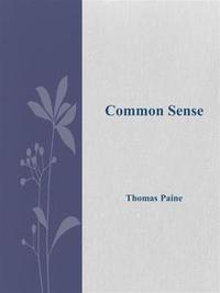 Libro COMMON SENSE