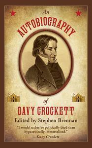 Libro AN AUTOBIOGRAPHY OF DAVY CROCKETT