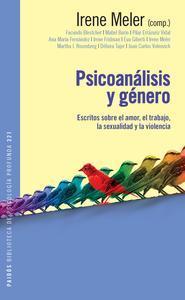 Libro PSICOANÁLISIS Y GÉNERO