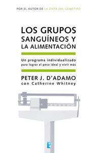 Libro LOS GRUPOS SANGUÍNEOS Y LA ALIMENTACIÓN