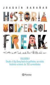Libro HISTORIA UNIVERSAL FREAK (EDICIÓN MEXICANA)