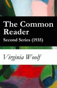 Libro THE COMMON READER - SECOND SERIES (1935)