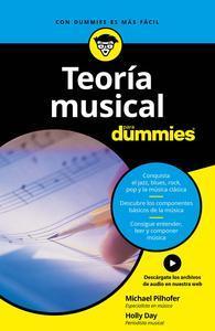 Libro TEORÍA MUSICAL PARA DUMMIES