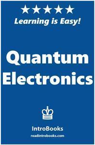 Libro QUANTUM ELECTRONICS
