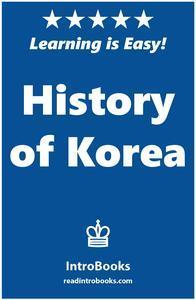 Libro HISTORY OF KOREA