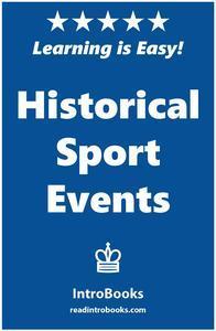 Libro HISTORICAL SPORT EVENTS