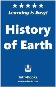 Libro HISTORY OF EARTH