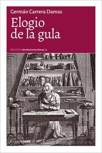 Libro ELOGIO DE LA GULA