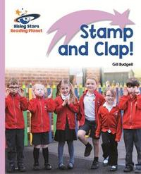 Libro READING PLANET - STAMP AND CLAP! - LILAC: LIFT-OFF