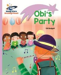 Libro READING PLANET - OBI'S PARTY - LILAC: LIFT-OFF