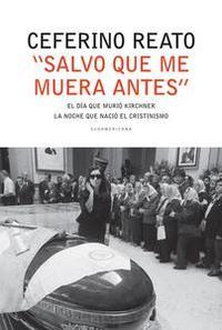 """Libro """"SALVO QUE ME MUERA ANTES"""""""