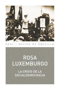 Libro LA CRISIS DE LA SOCIALDEMOCRACIA