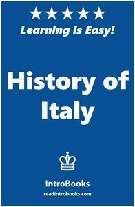 Libro HISTORY OF ITALY