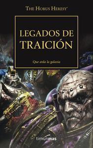 Libro LEGADOS DE TRAICIÓN, Nº 31