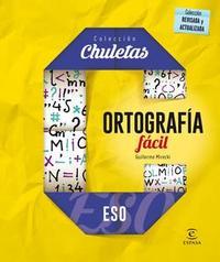 Libro ORTOGRAFÍA FÁCIL PARA LA ESO