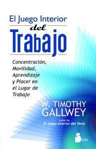Libro EL JUEGO INTERIOR DEL TRABAJO