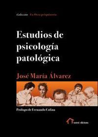 Libro ESTUDIOS DE PSICOLOGÍA PATOLÓGICA