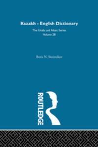 Libro KAZAKH-ENGLISH DICTIONARY