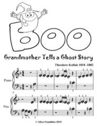 Libro GRANDMOTHER TELLS A GHOST STORY - BEGINNER PIANO SHEET MUSIC TADPOLE EDITION