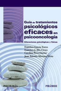 Libro GUÍA DE TRATAMIENTOS PSICOLÓGICOS EFICACES EN PSICOONCOLOGÍA